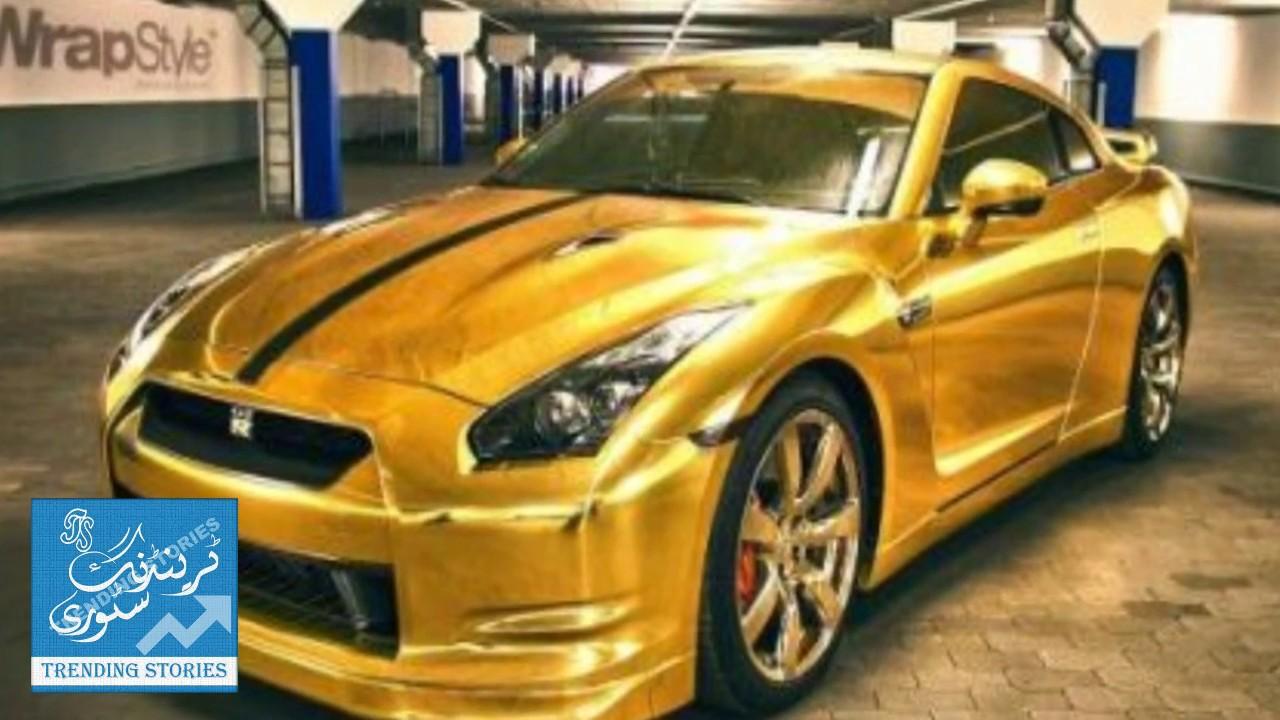 18k Gold Foil Lamborghini Aventador S Lands In Islamabad Trending