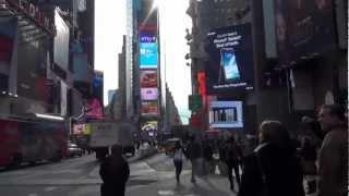 アメリカ旅行 ニューヨーク タイムズスクェア thumbnail