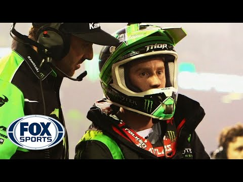 Jeremy McGrath Interviews Ryan Villopoto - East Rutherford Supercross 2014