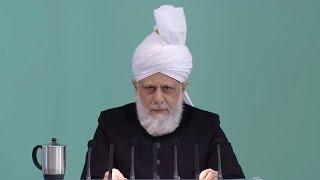Cuma Hutbesi 06-03-2015 - Islam Ahmadiyya