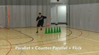 Futsal 1v1 Movements for Football: Parallel, Counter-Parallel and flicks