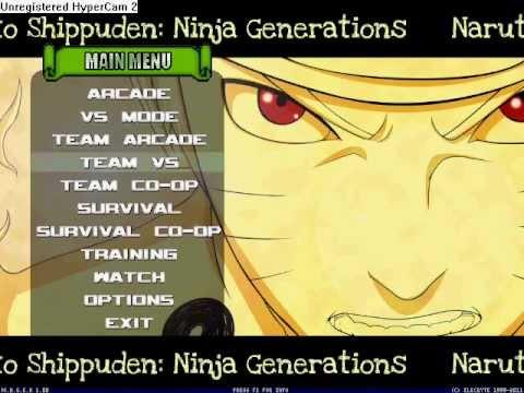 naruto shippuden ninja generations mugen v2.0