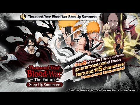 Bleach Brave Souls: Step-UP Summons Guerra dos Mil Anos! Bora tentar - Omega Play