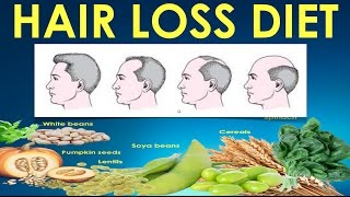 Hair Loss Diet / What to eat for healthy hair - Hair fall treatment with diet