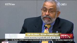 Global economy to gradually pick up in 2016