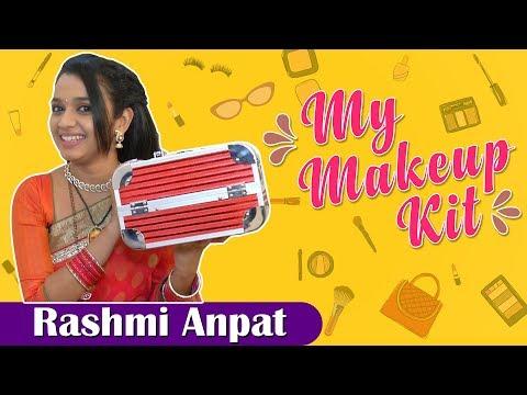 Rashmi Anpat's Makeup Kit | Marathi Actress | Kulswamini TV Serial | My MakeUp Kit