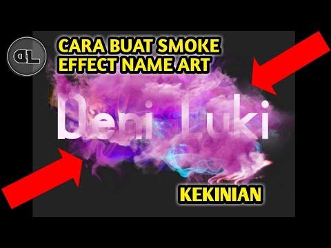 Cara Membuat Gambar Nama Dengan Efek Smoke Art 3d Di Android