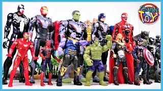 Ендшпіль іграшки Марвел Месники проти Таноса, мерзота, Веном! Халк, Залізний людина, Людина-Павук - Чарльз іграшка