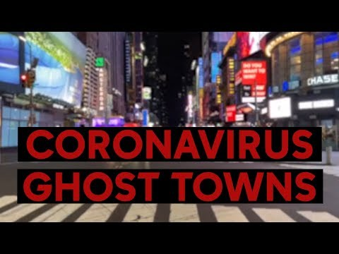 Haunting videos show how coronavirus is turning tourist attractions into ghost towns
