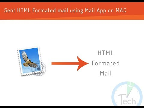Sent Html Formated Mail Using Mail App On Mac