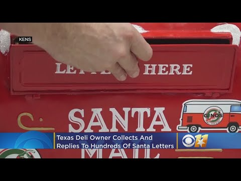Brian Price - #GoodNews: Deli Owner Collects And Replies To Hundreds Of Santa Letters