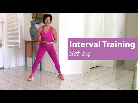 Interval Training Set #4 | Prime Women 30-Day Fitness Challenge