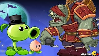 Plants Vs Zombies 2 Kung Fu World: New Costume New Power On Fire Walkthrough Part 35 (China Version)