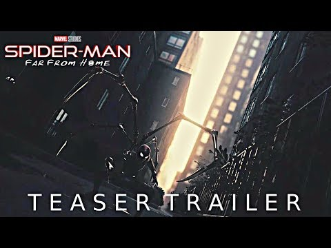 Marvel's Spider-Man: Far From Home - Teaser Trailer (2019) Tom Holland NEW Superhero Movie Concept