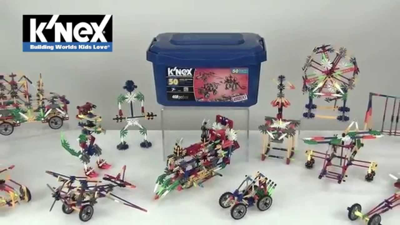 K Nex 50 Model Big Value Building Set Youtube
