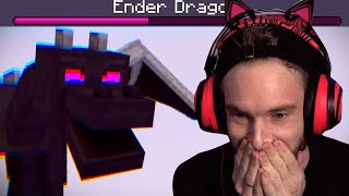 Ender Dragon Hardcode.. I almost died... - Minecraft Hardcore #19