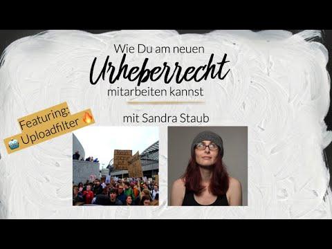 Wie Du Am Neuen Urheberrecht Mitarbeiten Kannst. Featuring: 🤖 Uploadfilter 🔥