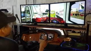 vuclip UKTS Busmod Indonesia ll Ngeblong di Pantura ll Risda Jaya ll With Dual monitor