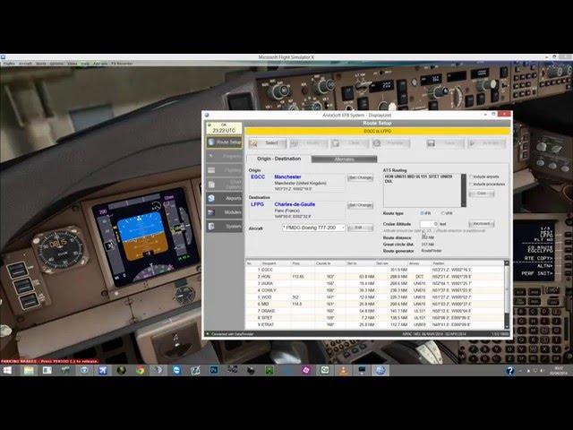 PMDG 777 and Aivlasoft EFB - VidInfo