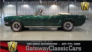 1966 Ford Mustang Convertible Gateway Classic Cars Orlando #273