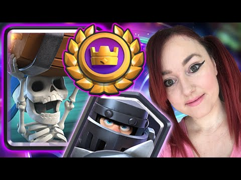 *NEW* GLOBAL TOURNAMENT With THIS AWESOME MEGA KNIGHT DECK 💙 CLASH ROYALE