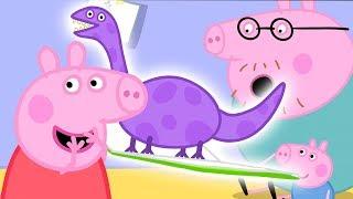 Peppa Pig Français Histoire du soir avec Peppa! Vidéo pour le Mois de la Lecture Dessin Animé