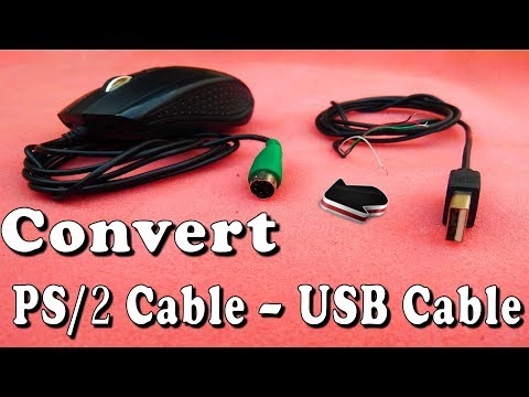 How To Convert A Mouse PS2 TO  USB PORT