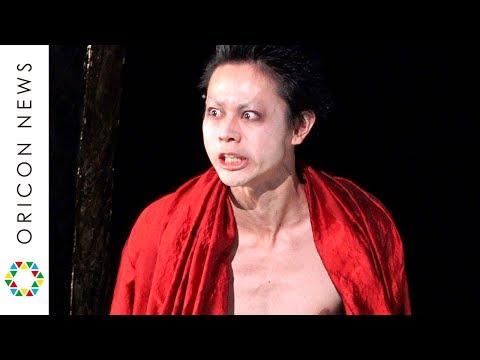 菅田将暉、主演舞台『カリギュラ』で圧巻の長セリフ 鬼気迫る迫真の演技で鍛え上げた肉体美を披露 舞台『カリギュラ』フォトコール&囲み取材