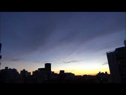 Solar Beam After Sunset Full Length!
