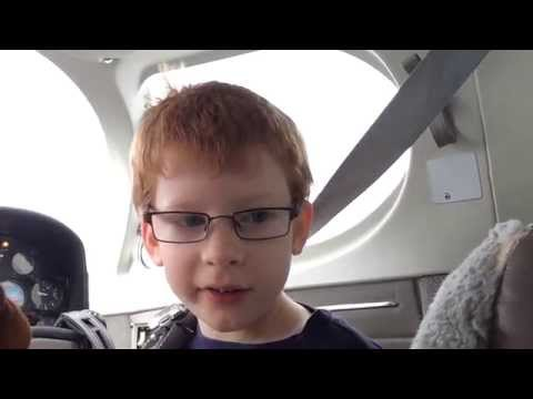 Cessna 340 crossfeed fuel and flying with my son