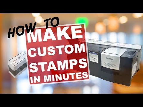 How to Make Custom Rubber Stamp in Minutes - Stampcreator Pro