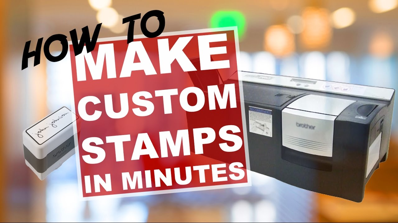 How To Make Custom Rubber Stamp In