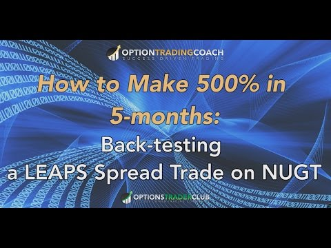 How to Make 500% in 5-months Trading Options