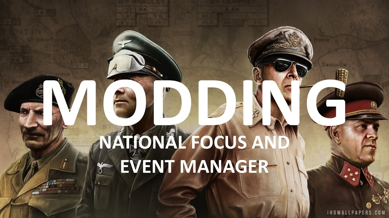 National Focus and Event Manager - Hearts of Iron IV Modding #13
