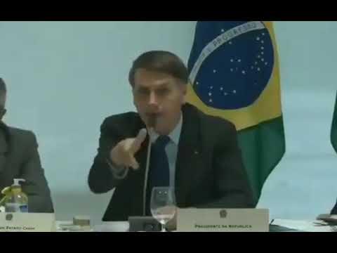 El video que reveló la Justicia de la reunión de Bolsonaro con Moro.