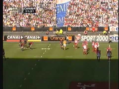 Stade Toulousain - Biarritz Olympique [Finale champ. de France 2006] Partie 1-2