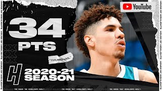 LaMelo Ball CRAZY 34 Points Full Highlights vs Jazz | February 5, 2021 | 2020-21 NBA Season
