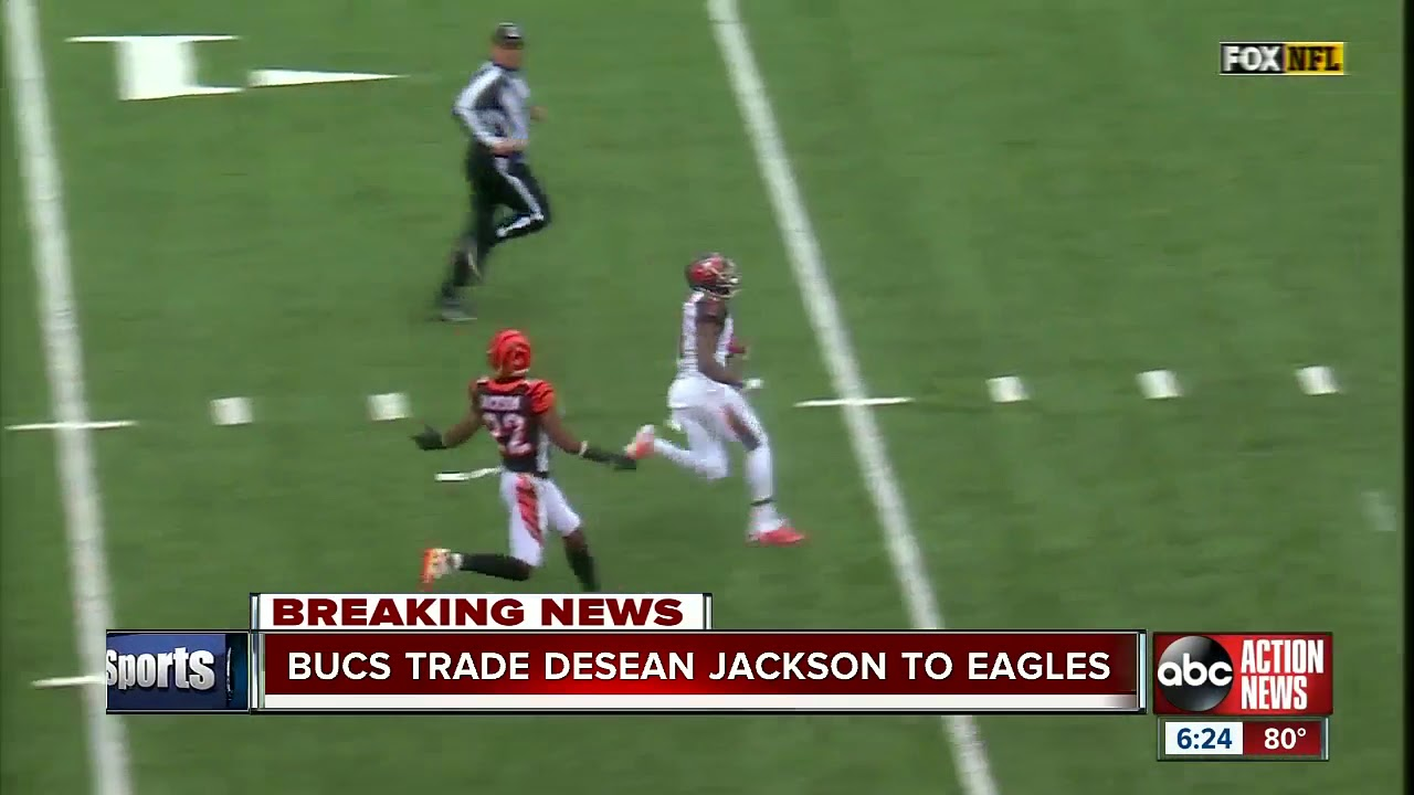 Buccaneers trading WR DeSean Jackson to Eagles