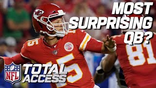 Most SURPRSING QBs This Season  NFL Total Access