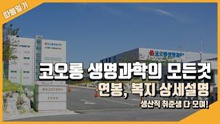코오롱 생명과학 회사정보, 연봉, 복지까지 싹 정리!