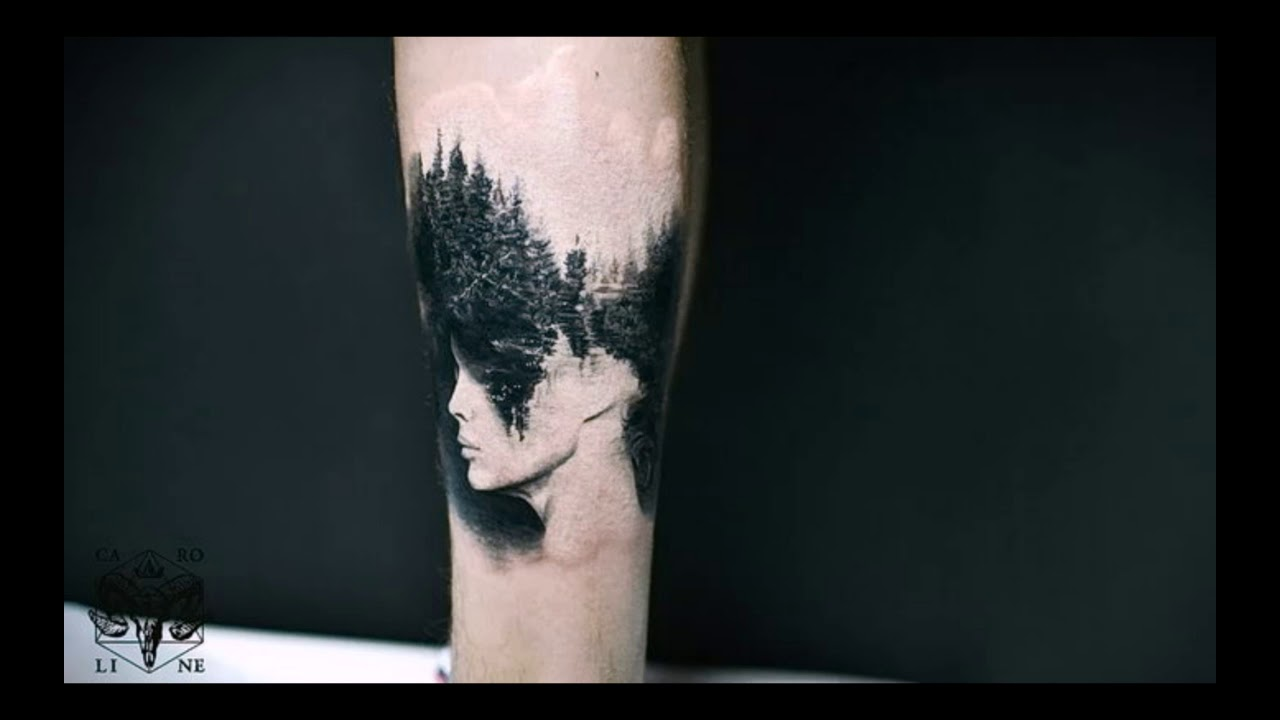 лес тату значение у мужчин и женщин как составить эскиз для себя