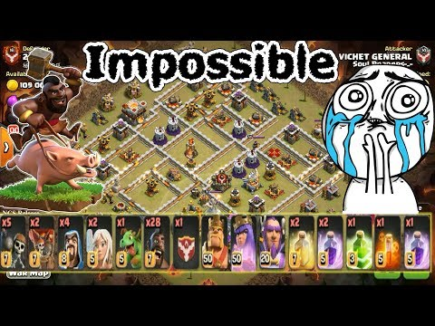 Hog Rider War Battles, Insane Clash of clans WAr Attack TH11, Watch and Learn How To