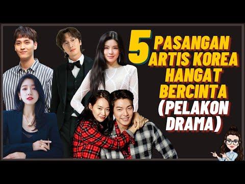 5 Pasangan Artis Korea Hangat Bercinta (Lee Kwang Soo, Park Shin-hye)