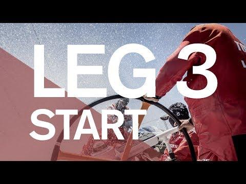 Full Replay: Leg 3 Start in Cape Town