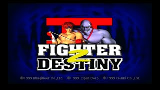 Nintendo 64 Longplay [039] Fighter Destiny 2