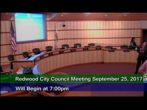 Redwood City - City of Redwood City 9.25.17