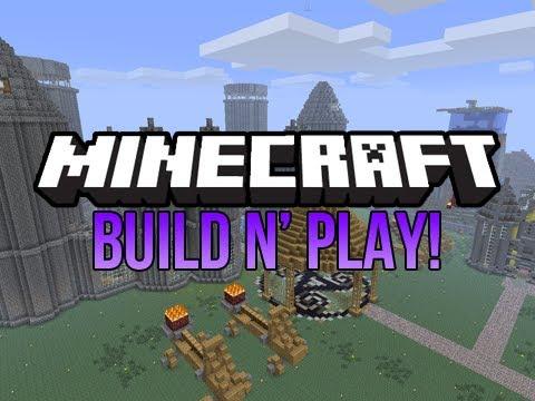 minecraft build n play 018 my views d youtube