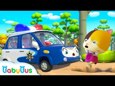 police-car-rescue-team-|-fire-truck,-tractor,-ambulance-|-cars-for-kids-|-kids-songs-|-babybus