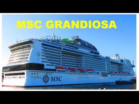 MSC GRANDIOSA   - видео обзор - нужная информация - лучшие круизные лайнеры мира