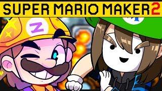 Dieses Level macht uns beide einfach nur fertig.. ☆ Super Mario Maker 2